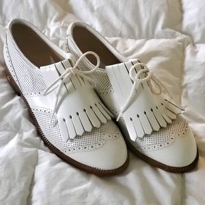 Walter Genuin Vintage lace up golf shoes size 7B